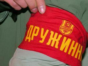 Добровольная пожарная дружина в Красногорском районе.