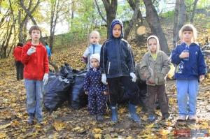 Итоги Всероссийской общественной акции по уборке мусора Сделаем вместе в Красногорске!