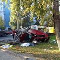 По вине женщины проехавшей на красный свет на Ильинском шоссе, г. Красногорска в ДТП погиб один человек, другой получил тяжелые травмы.
