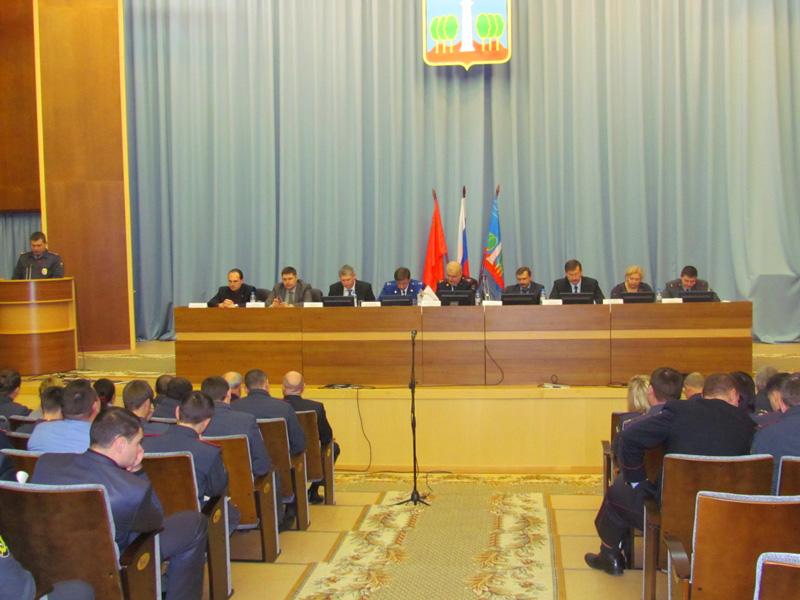 Итоги оперативно-служебной деятельности УМВД России по Красногорскому району за 12 месяцев 2012 года.