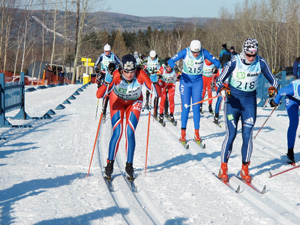 На лыжном стадионе Зоркий в Красногорском районе завершился III этап кубка России 2013 года Чемпионата Центрального Федерального округа.