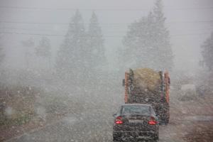 ГИБДД предупреждает водителей о резком ухудшении погодных условий.