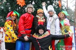 Рождественские гуляния в Детском городке Сказочный в Красногорске.