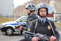 Отдел вневедомственной охраны Красногорского района гарантирует защиту и безопасность!