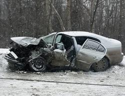 """Жуткое столкновение на встречной полосе на 150 км автодороги М-9 """"Балтия"""" в котором погибло 3 человека!"""