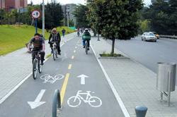 В администрации Красногорска запланированы работы по проектированию велосипедных и пешеходных дорожек.