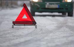 """ДТП между автомобилями """"Хонда"""" и """"Мерседес"""" на 43 км Волоколамского шоссе, в котором оба водителя двигались на разрешающий сигнал светофора!"""
