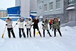 Около 200 зимних субботников организовано сотрудниками Госадмтехнадзора.