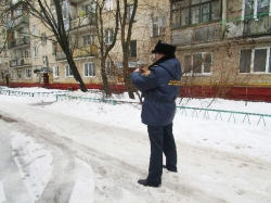 Треть проверенных в январе Госадмтехнадзором объектов – улицы и дворы.