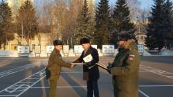 В Красногорске поздравили военнослужащих центра войсковой части 26302 с Днем защитника Отечества.