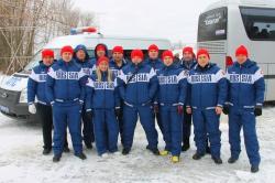 Лучший автогонщик Московской области из Красногорска подтвердил свой успех на IX Зимней спартакиаде сотрудников ГИБДД.
