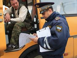 """Красногорские госавтоинспекторы проверят пассажирский транспорт в рамках оперативно-профилактического рейда """"Автобус""""."""