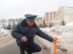Контроль за уборкой дорог и пешеходных зон продолжается.