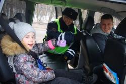 За безопасность ребенка в автомобиле отвечает водитель!!!