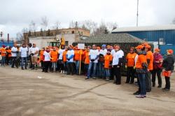 Около 400 человек приняло участие в областном субботнике 23 апреля 2016 года на территории сельского поселения Ильинское!
