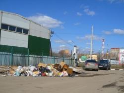 В Красногорском районе вблизи платформы Нахабино ликвидирована свалка объемом 20 кубометров.