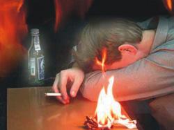 Профилактика пожаров от неосторожного обращения с огнем (в т.ч. при курении).