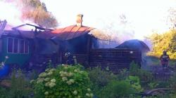 Пожар в Красногорске (д. Гольево) унес жить одного человека!