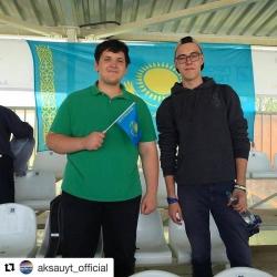 Резиденты Молодежного Медиацентра Красногорска Александр Лаптев и Алексей Полянский стали зрителями II Армейских международных игр в Алабино.