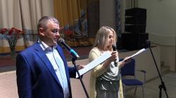 В микрорайоне Опалиха прошла встреча ветеранов, посвященная 73-й годовщине Победы в Курской битве.