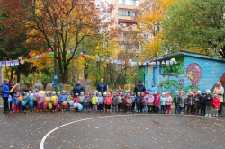 В Красногорском районе при детском садике №2 открылся новый велогородок, который стал тринадцатым в дошкольных образовательных организациях района