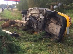 Пять ДТП с пострадавшими зарегистрировано за сентябрь месяц 2016 года на автодорогах Красногорского района.