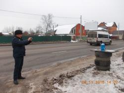 В Красногорске пресечена несанкционированная продажа незамерзайки.
