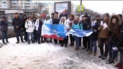 """Акция """"Мы дышим одним воздухом"""" прошла в Красногорске."""