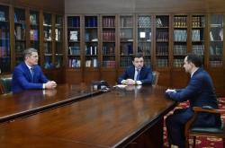 Радий Хабиров назначен временно исполняющим обязанности главы Красногорского городского округа.