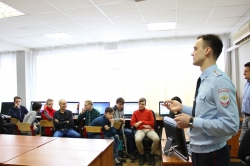 Сотрудники отдела по контролю за оборотом наркотиков УМВД России по Красногорскому району встретились со студентами Красногорского колледжа.