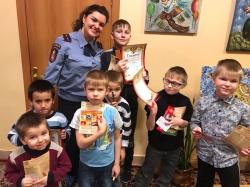 Сотрудниками ОНД по городскому округу Красногорск проведена олимпиада на знания пожарной безопасности!