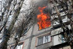 Пожар 1 апреля 2017 года в квартире по адресу: город Красногорск, улица Пионерская, дом №8.