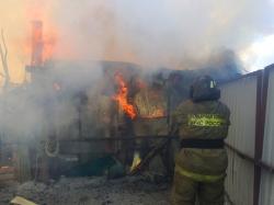 Из-за не соблюдения правил пожарной безопасности произошел пожар в СНТ «Здоровье», го Красногорск, на котором пострадал 1 человек.