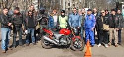 Перед началом мотосезона в Красногорске прошла акция «Мотодвижение без нарушения!».
