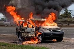 Как предотвратить пожар в транспортном средстве?