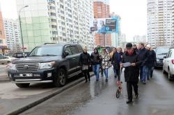 Жители Павшинской поймы активно включились в обсуждение схемы парковочных мест!
