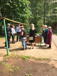 Участковые уполномоченные полиции УМВД России по Красногорскому району отчитались перед населением!