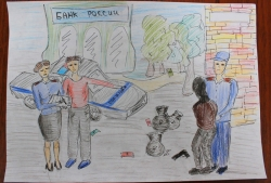 Сотрудники УМВД России по г.о. Красногорск и общественники подвели итоги конкурса детского рисунка «Мои родители работают в полиции»