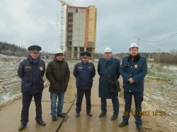 Два надзорных ведомства проверили стройки в Красногорске!