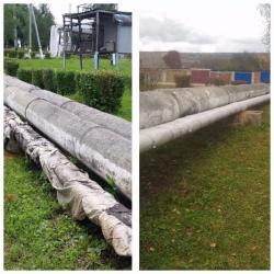 Госадмтехнадзор настаивает на скорейшем восстановлении поврежденных участков теплотрасс!