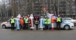 «Дед Морозу обещаю: ПДД не нарушаю!» - под таким названием госавтоинспекция провела традиционную предновогоднюю акцию 2018.