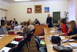 Полицейские УМВД России по г.о. Красногорск приняли участие в круглом столе по вопросам профилактики подростковой преступности.