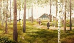 Подведены итоги конкурса на лучшую концепцию благоустройства территории бывшего дома отдыха «Опалиха».