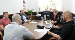 Члены Общественного совета при УМВД России по г.о. Красногорск провели очередное заседание.