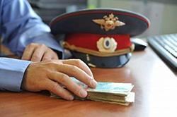 Трое красногорских полицейских задержаны за взяточничество!