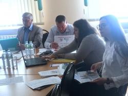 Волонтеры Московской области защищают свои проекты, поданные на конкурс «Доброволец России».