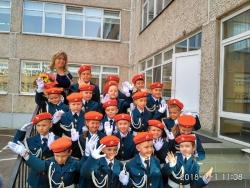 «Знакомство с юными кадетами в День знаний».