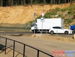 Первое ДТП произошло на дороге «Красногорск – Митино» построенной для разгрузки транспортных потоков из городского округа.