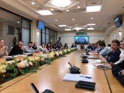 В Московской областной Думе состоялось 7-ое заседание Московского областного молодёжного парламента.