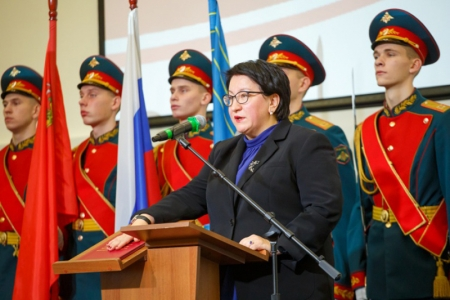 Эльмира Хаймурзина официально вступила в должность главы Красногорска!